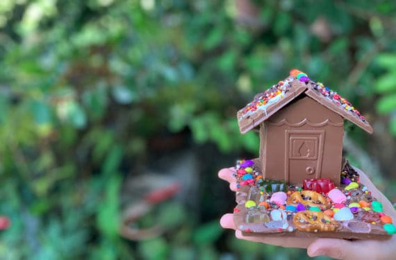 בית משוקולד, יצירה בסדנה של גליתא חוות שוקולד, דגניה