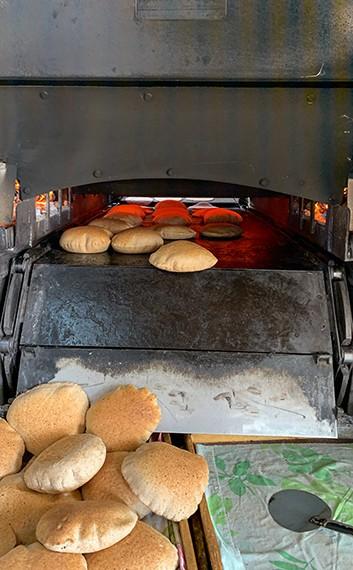 תנור הפיתות מאפיית אל ביאדר, כפר דיר חנא