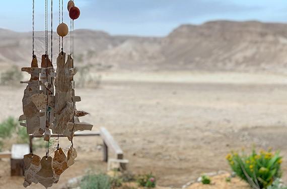 נוף הערבה ישוב צוקים