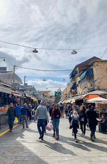 השוק הפתוח בשוק מחנה יהודה בירושלים