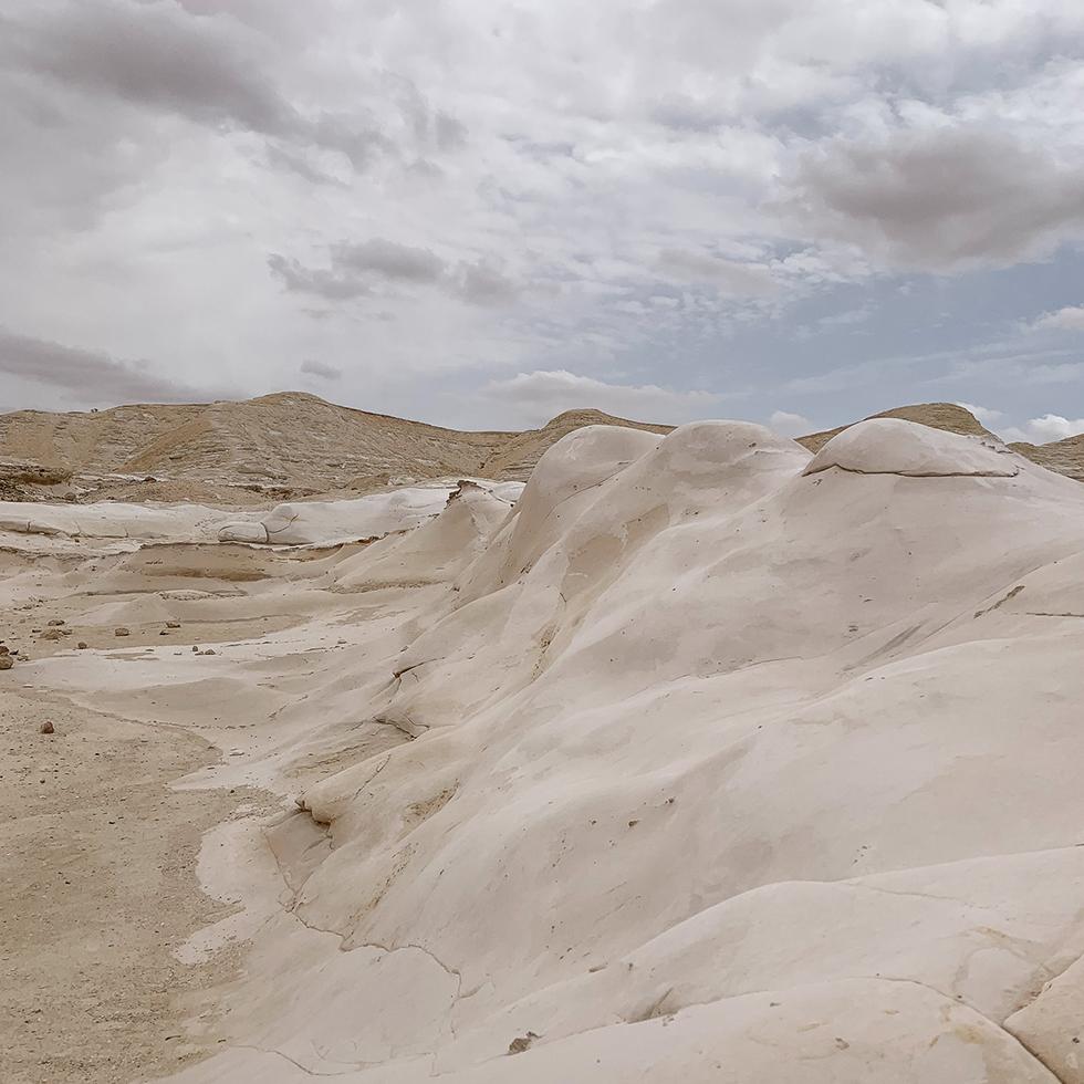 חמוקי ניצנה היפים על גבול מצרים